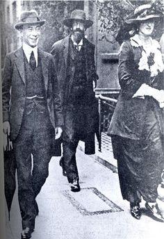 Roger Fry, Lytton Strachey, & Ottoline Morrell