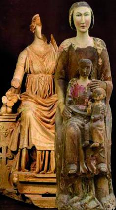 """""""Grandi madri grandi donne - Percorsi d'arte dalla preistoria al rinascimento"""""""