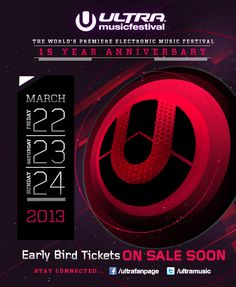 Buy cheaper tickets from a promoter when tickets are sold out @ www.MyUltraMusicFestivalTickets.com (#ULTRA #2013)