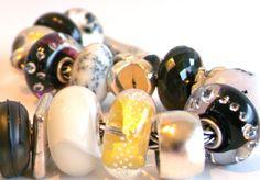 The Black & White Faberge Bracelet...