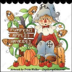Pumpkins & Hayrides 1 Clip Art Single http://digiscrapkits.com/digiscraps/index.php?main_page=product_info&cPath=434_903&products_id=8630