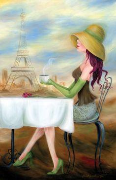 Paris de Caroline Fellis