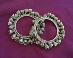 Bridal Bangles, Silver Bangles, Jewelry Design, Jewelry Accessories, Brooch, Bracelets, Makeup, Ship, Free