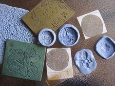 Metal Clay Textures | FeltMagnet
