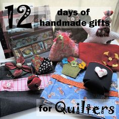 Day Seven: Folded Fabric Christmas Tree Ornament — The Inquiring Quilter Quilted Christmas Gifts, Fabric Christmas Ornaments, Fabric Christmas Trees, Quilted Gifts, Flower Ornaments, Homemade Christmas Gifts, Homemade Gifts, Xmas Gifts, Christmas Sewing Projects