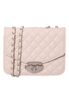 Nadine Quilted Crossbody in NATURAL #7747 - colette by colette hayman