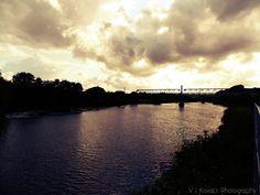 Bridge at Ravesthorpe- Dewsbury England