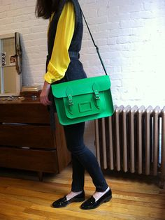 Cambridge Satchel - green