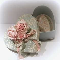 Amarna CRAFTS AND IMAGES: BOXES IN STYLE SHABBY CHIC - click on the images to enlarge them