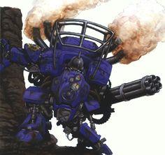 Mutant Chronicles - Vulkan Battlesuit