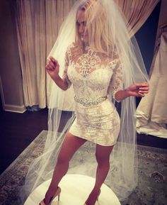 Smoking Hot Lana in her Wedding Dress via /r/WrestleWithThePlot... #wedding #weddings