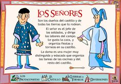 The Elders - this is in Spanish: need it translated, someone. Castillo Feudal, Ap Spanish, Medieval World, Social Science, Middle Ages, Castle, Books, Homeschool, Sunshine