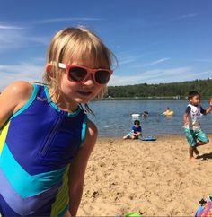 peekaboo--take a peek into Limeapple Swimwear for girls