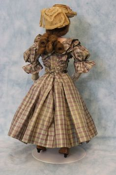 "15"" Antique Jumeau French Fashion doll swivel head, stamped body c.1870s Dressed in Dolls & Bears, Dolls, Antique (Pre-1930), Bisque, French 