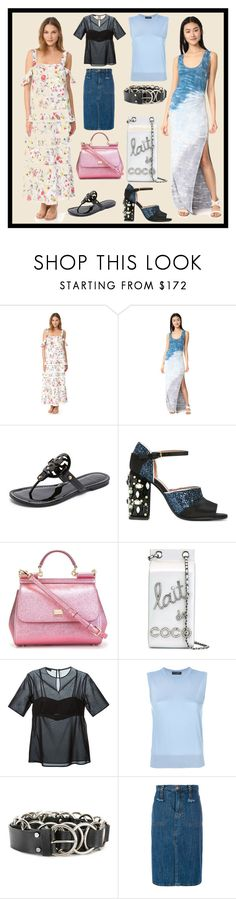 """""""Please Follow Trend"""" by cate-jennifer ❤ liked on Polyvore featuring Nicholas, Young, Fabulous & Broke, Tory Burch, Marni, Dolce&Gabbana, Chanel, T By Alexander Wang, McQ by Alexander McQueen and See by Chloé"""