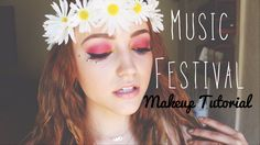 Music Festival Inspired Makeup Tutorial l Collab w/ Alison Henry.... Also very pretty... smu