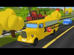 ▶ Help Shawn The Train teach the car about traffic signs! - YouTube