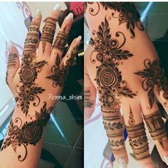 "4,202 Likes, 17 Comments - MizNehaa Henna Artist Ⓜ (@hennabymiznehaa) on Instagram: ""Follow @hennabymiznehaa for more  Gorgeousness  @7enna_shim ------------------------------…"""