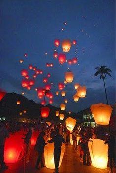 Sky Wish Lanterns