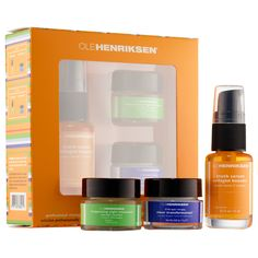 Shop Ole Henriksen's 3 Little Wonders™ Mini Collection at Sephora. This regimen helps reverse major signs of aging for all skin types and concerns.