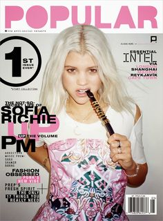 Model @ Sofia Richie - Popular Issue May 2015