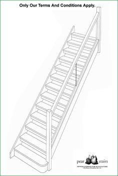 Cox Open Riser Staircase
