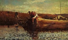 Winslow Homer    Waiting for a Bite
