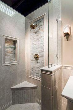 80 stunning tile shower designs ideas for bathroom remodel (66)