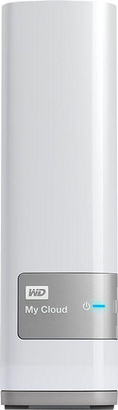 WD - My Cloud 4TB External Hard Drive (NAS) - White