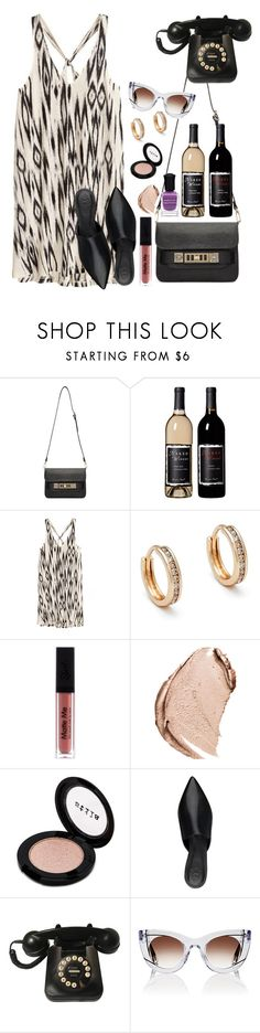 """Twitch"" by chelsofly on Polyvore featuring Proenza Schouler, Anna Sheffield, Christian Dior, Stila, Thierry Lasry and Deborah Lippmann"