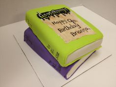 Pin Goosebumps Cake Parties Childrens Book Titles Elementary Ages ...