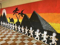 Ancient Egypt Activities, Ancient Egypt Crafts, Ancient Egypt Display, Egyptian Themed Party, Egyptian Era, English Day, Egyptian Mummies, Social Studies Classroom, School Displays