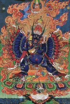 大威德是忿怒法,忿怒法是強迫消除業障的一個法,大威德就是有這樣功德的一個佛,修大威德的時候,所有的一切業障都會自動消失。 ~益西降措仁波切  Yamantaka is a wrathful teaching that cleanses obscurations by force. Yamantaka is a Buddha that has this kind of merit and virtue. When you practice Yamantaka, all the obscurations will automatically disappear. By YesheJamtso Rinpoche  大恩熱羅益西降措上師官方網站︰ http://www.yqsyxjc.org/index.aspx  大恩熱羅益西降措上師Facebook 專頁:  https://www.facebook.com/yeshejamtso  大恩熱羅益西降措上師Twitter: https://twitter.com/YesheJamtso
