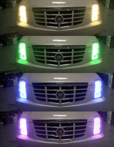 color changing headlights purple | Walyou