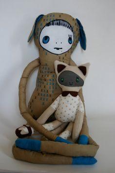 Břichopas about toys: Miss Plush Plush