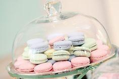 Chá de Bebê Ladurée - Macarons Mon Petit Sweet