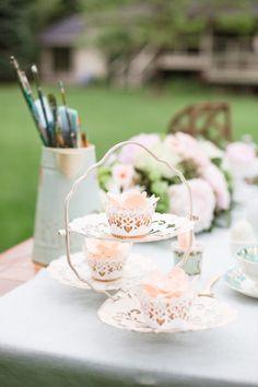 Watercolor Garden Wedding Inspiration: http://www.stylemepretty.com/canada-weddings/ontario/2014/07/17/garden-wedding-inspiration-at-pathways-to-perennials/ | Photography: http://www.rhythm-photography.com/