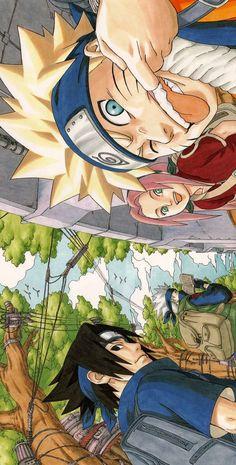 Naruto - Everything About Anime Naruto Shippuden Sasuke, Naruto Kakashi, Anime Naruto, Naruto Comic, Otaku Anime, Wallpaper Naruto Shippuden, Naruto Cute, Naruto Sasuke Sakura, Naruto Teams