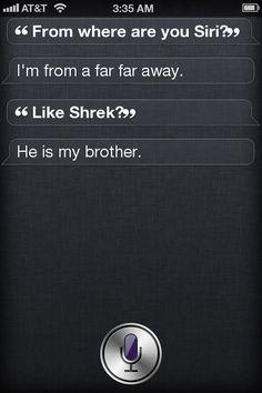 Conversation with Siri
