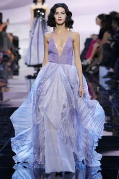 A plea to stylists prepping for the Oscars: Don't pull Mr. Armani's anemone gowns unless your client knows how to swan (as opposed to regular walking).