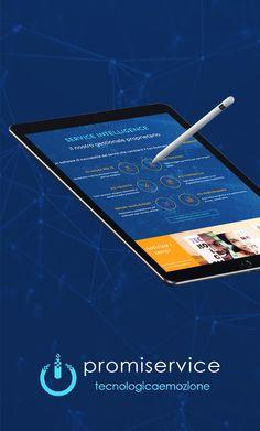 Promiservice - Web Site #WebDesign #BrandIdentity