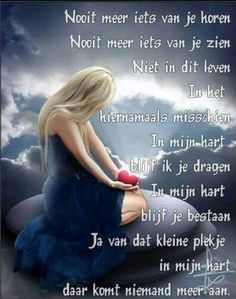 For my loved ones in heaven - Voor mijn dierbaren in de hemel Down Quotes, Words Quotes, Wise Words, Me Quotes, Sayings, I Love My Mother, Angel Guide, Missing Someone, Death Quotes
