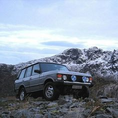 """1,199 Likes, 4 Comments - @landroverphotoalbum on Instagram: """"You know you want one! By @janschille #landrover #RangeRover #RangeRoverClassic…"""""""