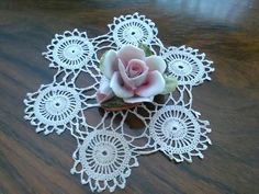 Rose Capodimonte - Rose di porcellana - Rose  rosa Vintage arredo - Soprammobile Vintage di VintaFai su Etsy