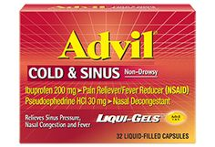 Advil Cold & Sinus Liqui Gels#AdvilatWork I got this free from Smiley360!