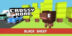 Crossy Roads Black Sheep