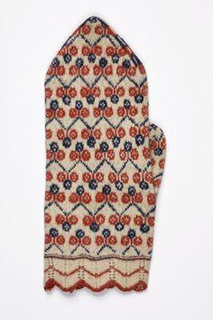 Mitten pattern from Estonia
