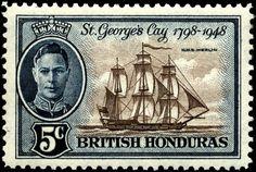 British_Honduras_1948_5c.