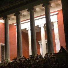 Athens Open Air Film Festival 2015. Watching Barry Lyndon at the National Archaeological Museum