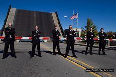 Charlevoix Michigan Wedding Photography bridge downtown by http://www.paulretherford.com #northernmichigan #puremichigan #charlevoix